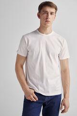 Fifty Outlet Camiseta básica Lifeway Blanco