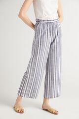 Fifty Outlet Pantalón de pierna ancha marrón