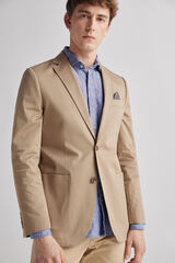 Fifty Outlet Blazer cannet básica beige