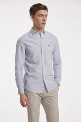 Fifty Outlet Camisa lisa azulado