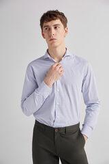 Fifty Outlet Camisa vestir rayas Azul