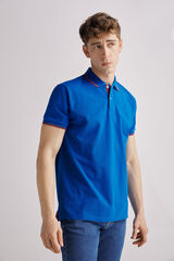 Fifty Outlet Polo piqué Azul