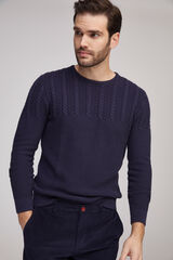 Fifty Outlet Jersey estructura Azul