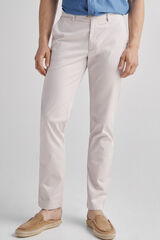 Fifty Outlet Chino Liso Vestir Crudo