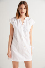 Fifty Outlet Vestido corto Blanco