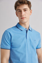 Fifty Outlet Polo piqué Azul indigo