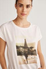 Fifty Outlet T-shirt imagem branco