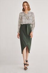 Fifty Outlet Falda midi Verde