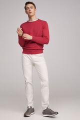 Fifty Outlet Jersey básico orgánico Rojo