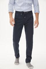 Fifty Outlet Pantalón jogger Confort Azul