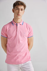 Fifty Outlet Polo piqué Fucsia