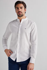 Fifty Outlet Camisa Lino Mao Blanco