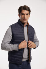 Fifty Outlet Chaleco reversible Azul marino