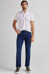 Fifty Outlet Pantalón Denim Regular Azul
