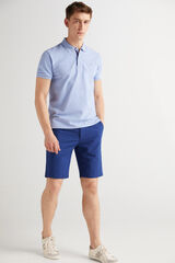 Fifty Outlet Polo básico Azul