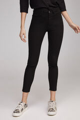 Fifty Outlet Denim sostenible slim fit Negro