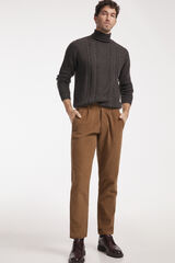 Fifty Outlet Pantalón Chino Pana Beige