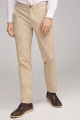 Fifty Outlet Pantalón chino stretch Camel