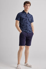 Fifty Outlet Bermuda lisa confort Azul marino
