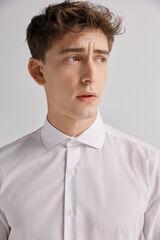 Fifty Outlet Camisa vestir lisa Blanco