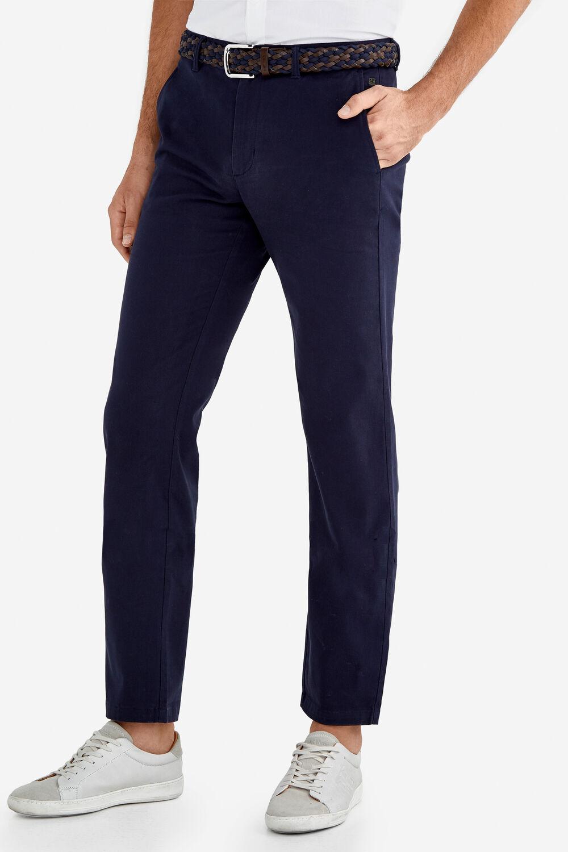 c7d3c5a3f Fifty Factory Pantalón vestir Azul marino