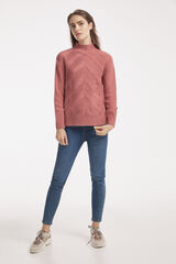 Fifty Outlet JERSEY ESTRUCTURA Fucsia