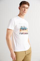 Fifty Outlet Camiseta cuello redondo Blanco