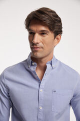 Fifty Outlet Camisa Oxford Lisa Azul