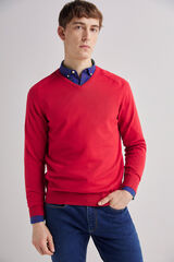 Fifty Outlet Jersey cuello pico Rojo