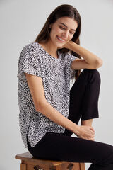 Fifty Outlet Camiseta básica orgánica Negro