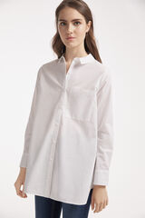 Fifty Outlet CAMISA OVERSIZE Blanco