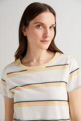 Fifty Outlet Camiseta algodón Natural