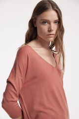 Fifty Outlet JERSEY BÁSICO PICO Camel