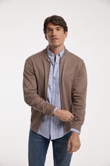 Fifty Outlet Chaqueta cremallera Beige