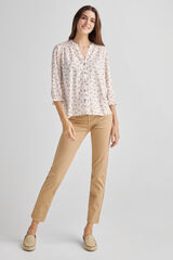 Fifty Outlet Blusa camisera lazadas Beige