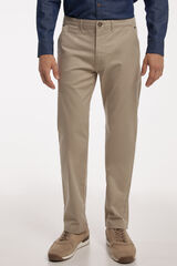 Fifty Outlet Pantalón Chino PdH Beige