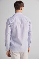 Fifty Outlet Camisa vestir microestructura Lifeway Azul