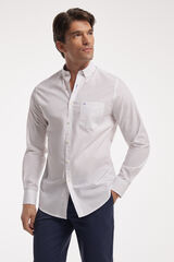 Fifty Outlet Camisa Popelín Lisa Blanco