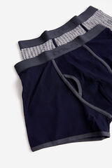 Fifty Outlet Pack boxers punto Gris plomo