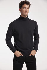 Fifty Outlet Jersey cuello vuelto Negro