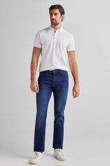 Fifty Outlet Pantalón Denim Comfort Azul