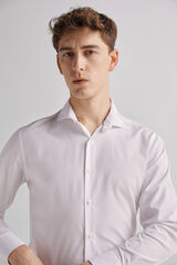 Fifty Outlet Camisa vestir lisa Blanco