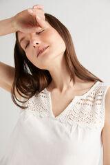Fifty Outlet Camiseta algodón Blanco