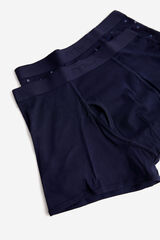 Fifty Outlet Pack boxers malha marinho