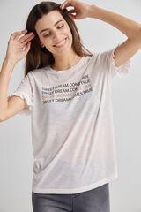 Fifty Outlet Camiseta punto Crudo