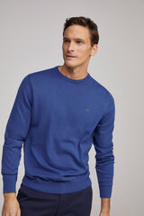 Fifty Outlet Jersey cuello caja pdh Azul