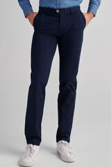 Fifty Outlet Pantalón chino Azul marino