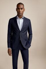 Pedro del Hierro Americana traje slim fit Azul