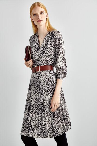 Vestido Animal Print Mujer Fifty