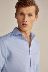 Pedro del Hierro Camisa lisa de estructura Azul